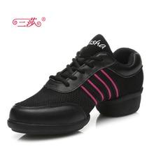 latest models sasha genuine Full Grain Leather  mesh Modern  Dance shoes Sneakers for woman T08