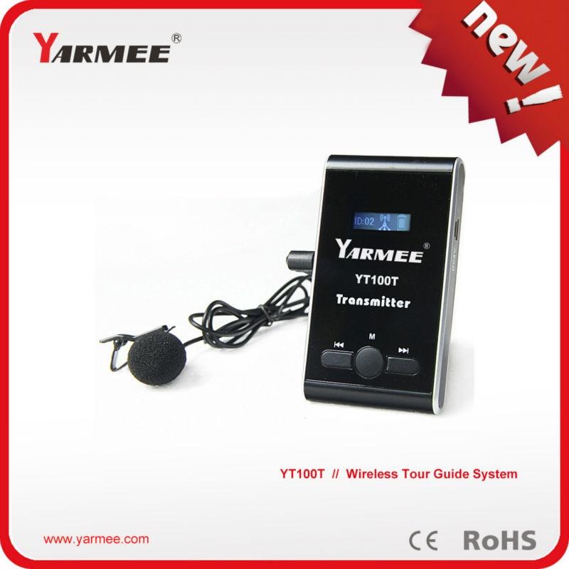Tour guide system package(2 pcs transmitter+30 pcs receivers+2pcs microphones +32pcs earphone+ Charge box for 32 pcs)