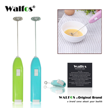 WALFOS New Coffee Milk Drink Electric Whisk Mixer Frother Foamer Egg Beater Electric Mini Handle Mixer Stirrer Kitchen Tool hot