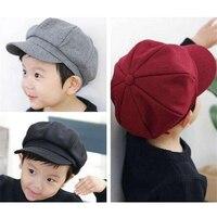 Newsboy Caps For Children Woolen Hats Unisex Winter Hat Special Fashion Warm Cap High Quality Harajuku