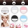 Кольцо для селфи для мобильного телефона светодиодное фотографическое освещение для смартфона Xiaomi iPhone Sumsang
