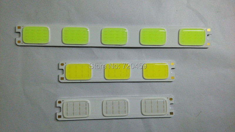 Led car lamp light source surface light source highlight the length of light <font><b>blu</b></font> <font><b>ray</b></font> 12v slitless cob light source light beads