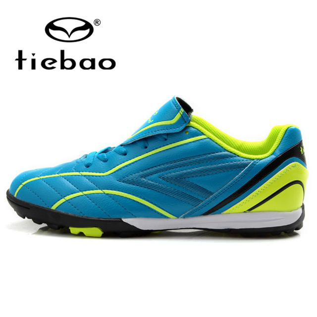 TIEBAO Professional TF Turf Sole Football Boots Outdoor Soccer Shoes Children Kids Teenagers Training Shoes Sneakers