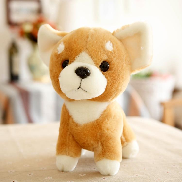 1pc 24cm Shiba Inu dog Akita little plush doll wedding gift novelty romantic girl stuffed toy
