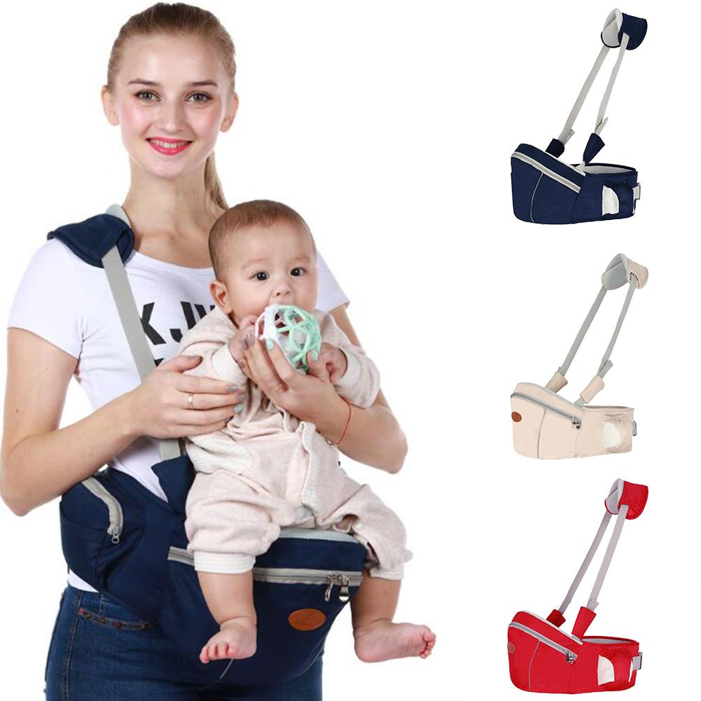 Backpacks & Carriers Reasonable Fashion Infant Newborn Baby Hold Carrier Anti-slip Waist Belt Stool Chair Storage Pouch Delicacies Loved By All Activity & Gear