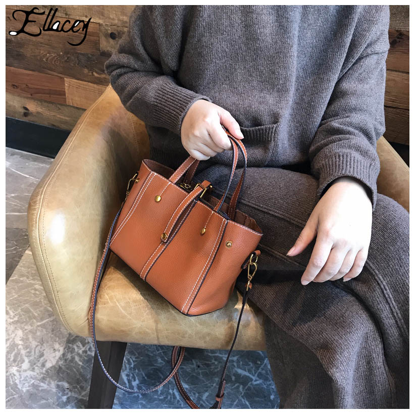 Tote Bags for Women 2018 Soft Cow Leather Luxury Handbags Women Bags Designer Ladies' Genuine Leather Handbag Shoulder Bag zooler women handbag elegant ol shoulder bag ladies cow leather handbags fashion corssbody bags designer genuine leather handbag