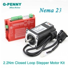 цена на G-PENNY Nema23 Closed-Loop Stepper Motor 2.0N.m 4 Wires 285Oz-in D=8mm Close Loop Stepper Servo Stepper Motor Free Shipping
