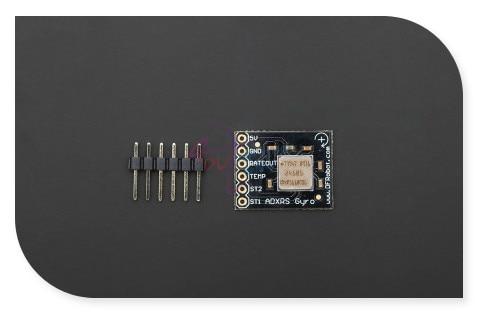 DFRobot гироскопа прорыв доска/датчик, чип ADXRS610 Z-оси ответ 300 угол/сек на платформе/робот/умный стабилизации автомобиля и т. д.