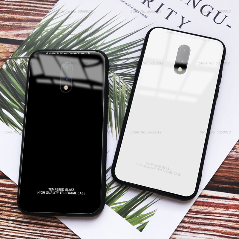 Tempered Glass Phone Case For For font b Oneplus b font font b 7 b font
