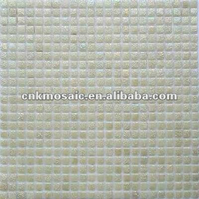 SC30 Jade Color Pearl Iridescent Mosaic Tile