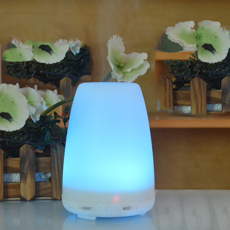 Humidifier Aroma diffuser Essential oil diffuser   Aroma  fragrance oils  Capacity 100ML   Aroma led  lamp   Cucurbit shape