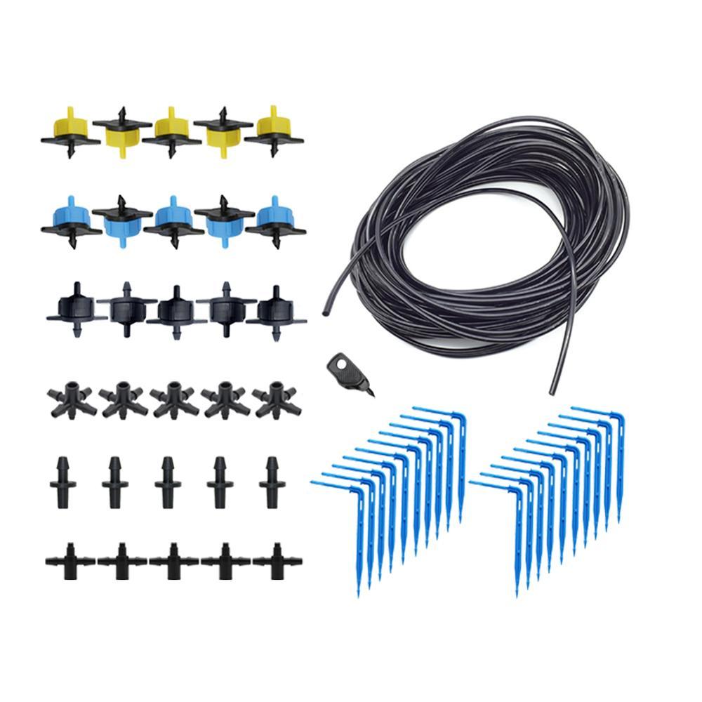 Garten Tropf Bewässerung Pfeil Tropf kit + 1 Pc 3mm Puncher 2L/4L/8L tropf Bewässerung kit 10 Sets, 20 Sets
