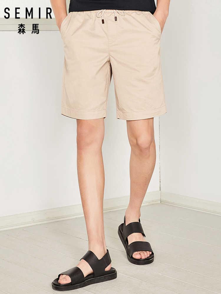 SEMIR 2019 ฤดูร้อนกางเกงขาสั้นสบายๆกางเกงยีนส์ขนาด plus กางเกงขาสั้นชายหาด 26-42 กางเกงครึ่งยี่ห้อ Boardshorts