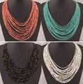 SPX5397 New Fashion Bohemian Bead Colares colares de moda para as mulheres 2014 collares acessórios Jóia Do Corpo