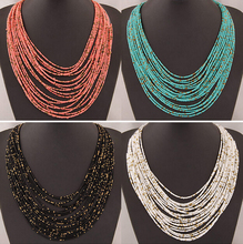 SPX5397 New Fashion Bohemian Bead Necklaces fashion necklaces for women new collares accessories Body Jewelry