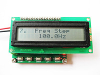 Free Shipping 1pc DDS Signal Generator Function Generator 0 1hz 100khz Frequency Meter