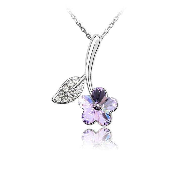 Flower Necklaces Pendants 1