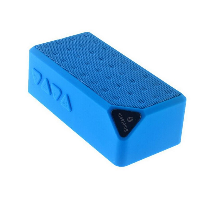 Bluetooth Speakers Wireless Bluetooth Speaker Mini Portable Magic Cube Bluetooth Speaker Bass blue normal 14