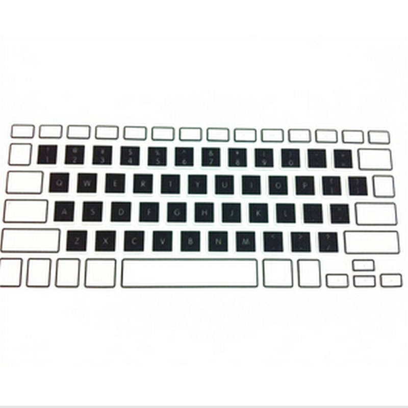New Candy Rainbow Silicone Keyboard Skin Protector Cover