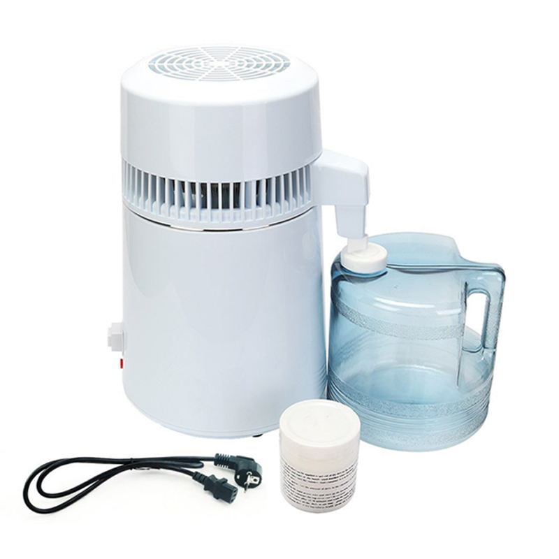4L Water Distiller Water Filter Pure Water Distiller Filters For Household Internal Stainless Steel with Collection