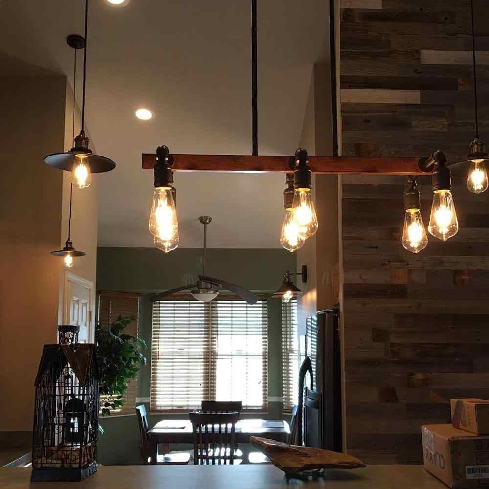 Rétro Edison Ampoule E14/E27 220V 2 W/4 W/6 W/8 W C35 C35L ST64 A60 Filament ampoules à incandescence Vintage décor Edison lampe