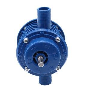 Image 5 - Bomba centrífuga autocebante azul de CC bomba centrífuga autocebante pequeña bomba de agua de taladro eléctrico manual de bombeo