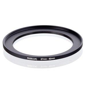 Image 1 - מקורי עלייה (בריטניה) 67mm 82mm 67 82mm 67 כדי 82 צעד עד טבעת מסנן מתאם שחור