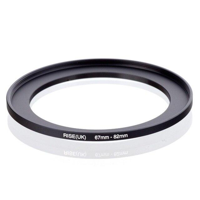 מקורי עלייה (בריטניה) 67mm 82mm 67 82mm 67 כדי 82 צעד עד טבעת מסנן מתאם שחור