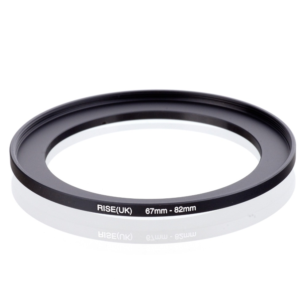 original RISE(UK) 67mm-82mm 67-82mm 67 to 82 Step Up Ring Filter Adapter black free shipping стоимость