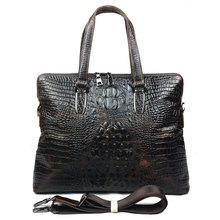 Fashion Real Genuine Leather Men Messenger Bags Cow Leather Portfolios Briefcase Shoulder Bag Business Men Travel Bags #VP-B1230