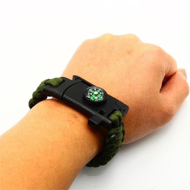 Плетеные браслеты ручной работы Многофункциональный Открытый