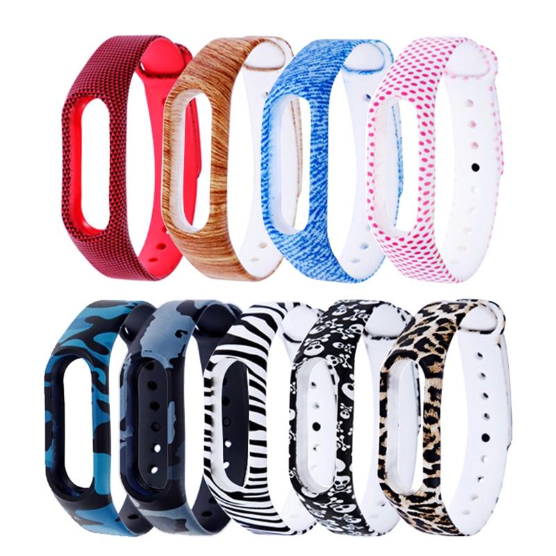 Rovtop Bracelets For Xiaomi Mi Band 2 Smart Watch Bracelet Silicone Wrist Strap For Xiaomi Mi Band 2 Wriststrap Charger Z2