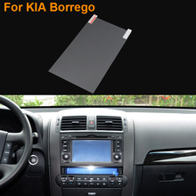 Car Styling 8 Inch GPS Navigation Screen Steel Protective Film For Kia Borrego Control of LCD Screen Car Sticker