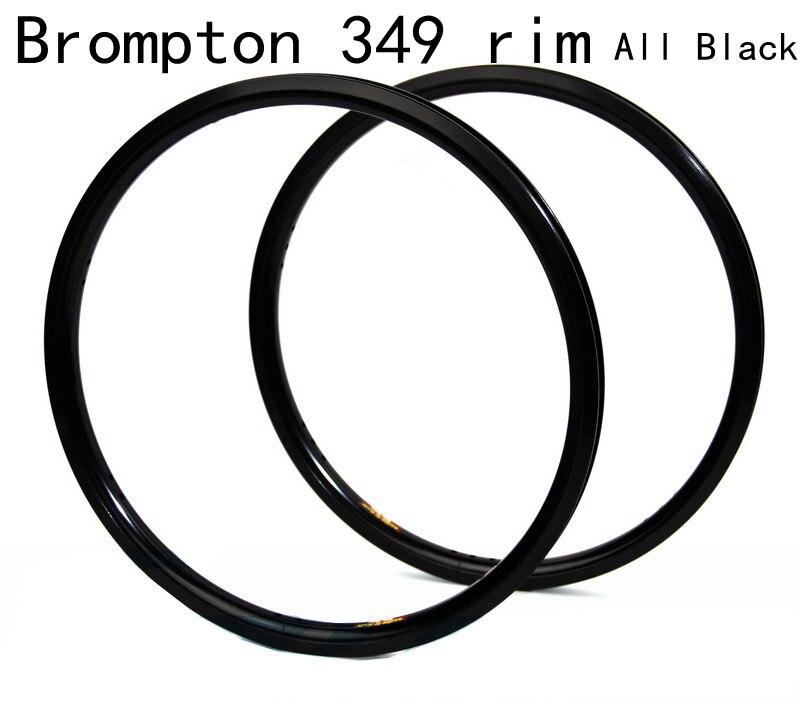 16 インチ 349 自転車黒リムブロンプトン用自転車 14 16 20 21 28 穴  グループ上の スポーツ & エンターテイメント からの リム の中 1
