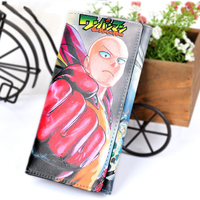 High Quality Cartoon Anime Cosplay One Punch Man Wallet Card Holder Zipper Purse Dollar Price 3 Styles 1