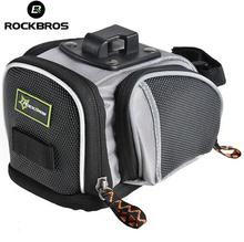 ROCKBROS MTB Seat Post Bag Fixed Gear Fixie Cycle Rear Bags Bicycle Accessories Cycling  Mountain Road Bike Saddle Bags