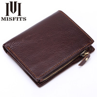 New Barnd 100 Genuine Leather Men Wallet Cowhide Top Quality Real Leather Man S Purse Multifunction