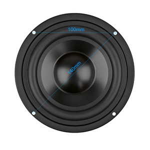 Image 2 - AIYIMA 1Pcs 5.25 Inch Subwoofer Speaker Column 4 8 OHM 50W Sound Speaker Driver Home Theater Car Audio Bass Hifi Woofer Sound