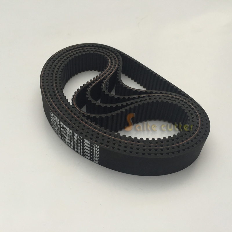 HTD Timing Belt L 300 - 3M 3mm Pitch 15mm Wide 100 Tooth DIY CNC Router Laser Robotics Engraving Cutting Machine