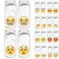 3D Носки Марка Носок Лодка Meias мода Печати Мужской Носки Emoji Шаблон Meias Feminina Смешно Низкой Лодыжки ГОРЯЧАЯ