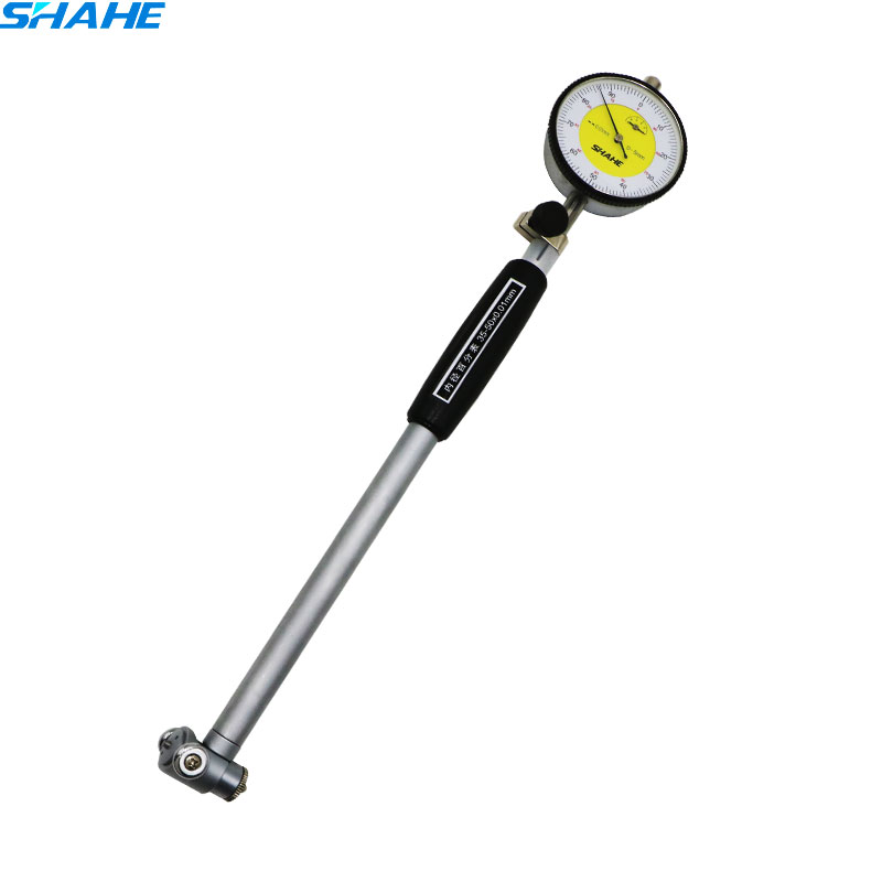 SHAHE 0.01 mm High Accuracy dial indicator Dial Bore Gauge 18-35/35-50/50-160 mm bore measurement