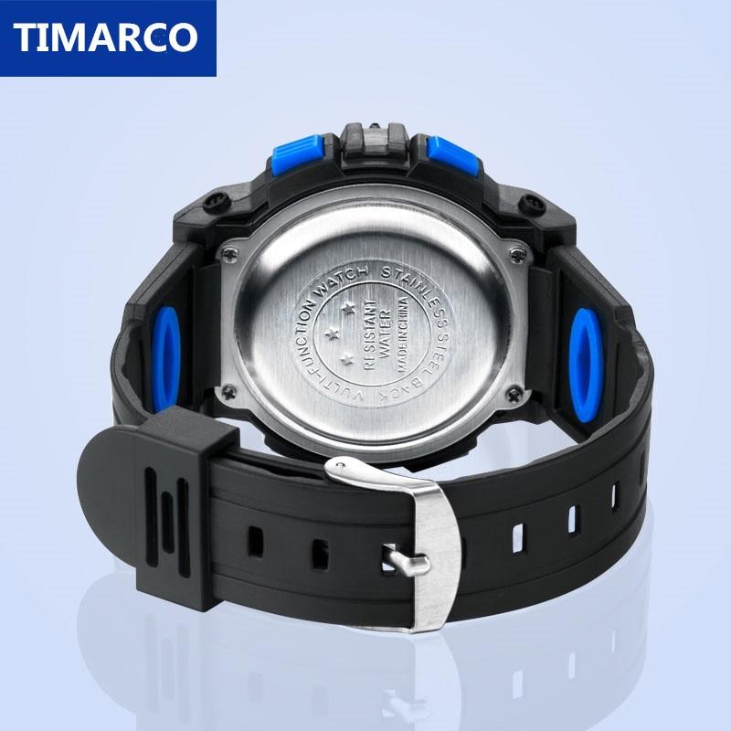 Children Watch Sport Kids Watches Silicone Strap Waterproof LED Digital Watch For Kid Children Student Girl Boy Wristwatch Clock 5