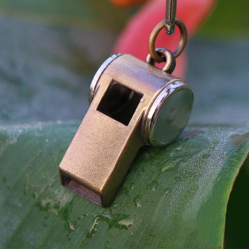 Sinkkilejeerinki metalli pilli pronssi kultainen ulkona pelastaja hätähenkilöstö vedenpitävä pilli syntymäpäivän joululahjaksi