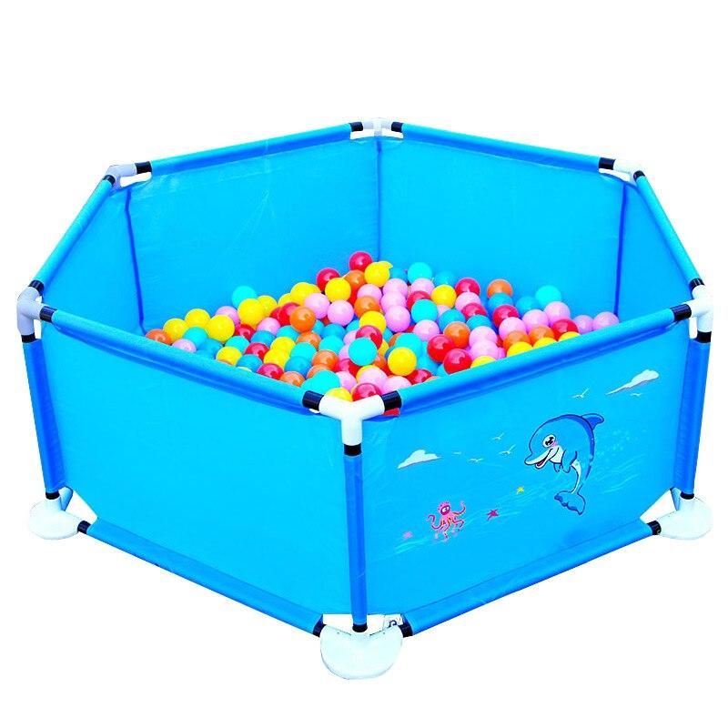 Bébé clôture garde pliant enfants parc Portable enfant jeu jouer tente océan balle jeu jouer Pit piscine bébé sécurité clôture produits