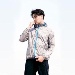 Image 5 - Xiaomi man Licht zonnebrandcrème huid jas sneldrogend Waterdicht top Outdoor zon kleding Sportkleding voor mannelijke