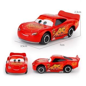 7 шт./компл., Дисней Pixar Cars 3, Lightning McQueen, Jackson Storm, Cruz, Mater, Mack, Uncle, 1:55, литой металлический автомобиль, модель игрушка для мальчиков
