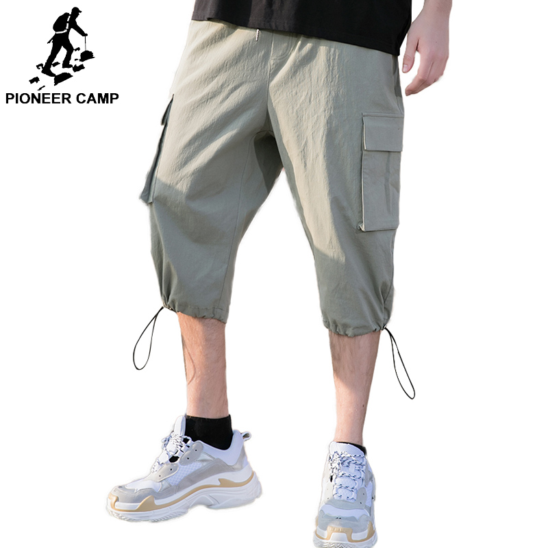 Pioneer Camp 7 minutes of pants 2019 summer men Casual Mens brand  AXX902083