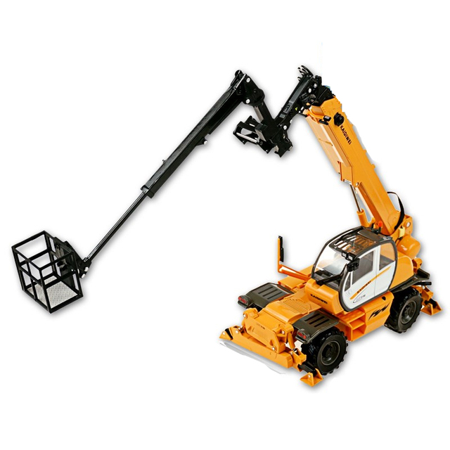 Alloy Wheel Linkage Steering 3 Different Work Mechanical 1:50 4 Arm Multi-Function Crane Truck Heavy Crane Large Car Kids Toy