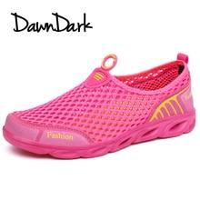 Női Aqua Cipők Nyár Rózsaszín Lila Női Szandál Gyaloglás Úszás Cipő Slip a nők Kültéri Sportok Vízi cipők
