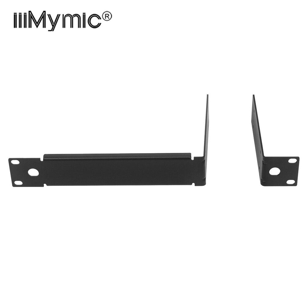 Metal Rack Mounting Bracket Rack Kits For QLXD QLXD4 QLXD1 Wireless Microphone System Wireless Receiver